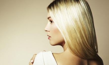 Haircut and Style with Optional Partial Highlights at Billy Sullo Salon (Up to 55% Off)