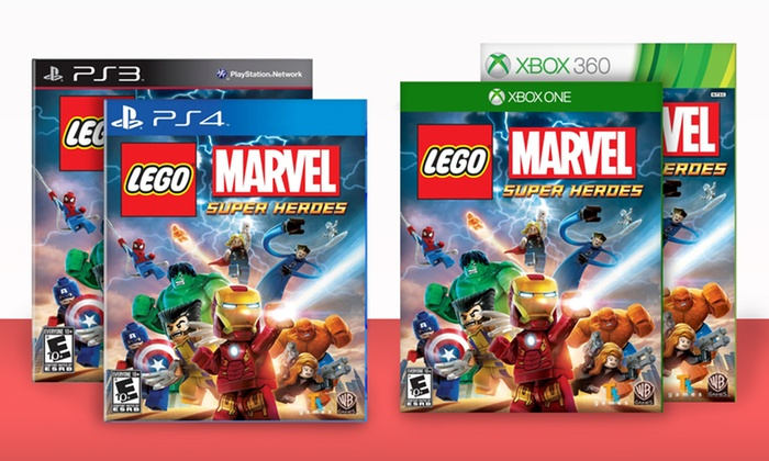 LEGO Marvel Super Heroes: LEGO Marvel Super Heroes. Multiple Console Versions Available from $22.99–$44.99. Free Returns.