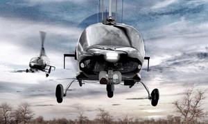 """Helicopter Fly: 15 Min. oder 30 Min. Rundflug oder """"Pilot für 1 Tag"""" – 15 Min. selber fliegen mit Helicopter-Fly (bis zu 76% sparen*)"""