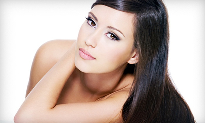 Nadwa Hair Spa - West Bloomfield: $39 for a Hair-Coloring Package with a Blowout at Nadwa Hair Spa in West Bloomfield ($110 Value)