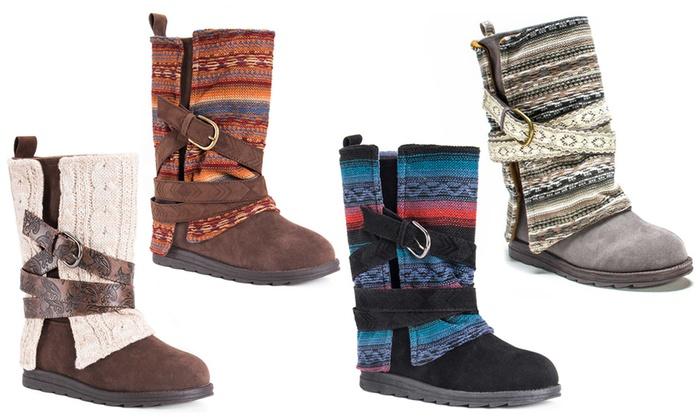 Muk Luks Women's Nikki or Nevia Boots