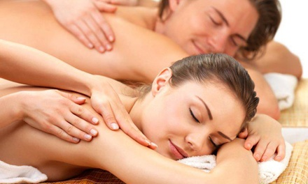 55- or 80-Minute Therapeutic Massage at Elements Therapeutic Massage (Up to 51% Off)
