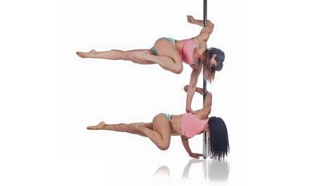 Pole Dancing or Aerial Hoop Lessons for One or Two at PoleKat Fitness (62% Off)