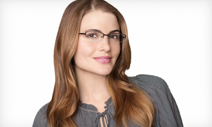 Pearle Vision - Multiple Locations: $49 for $225 Toward Prescription Eyeglasses and Sunglasses at Pearle Vision
