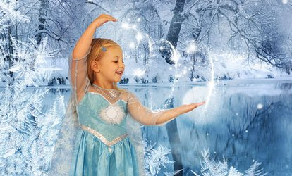 image for Ice Princess, Fairy of Elf Themed Photoshoot With Prints for £9 at James Carter Photography