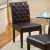 $148.99 for Two Tufted Faux-Leather Dining Chairs