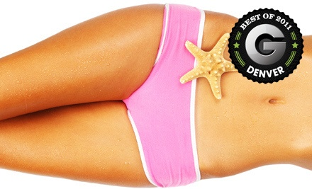 2 VersaSpa UV-Free Spray-Tanning Sessions (a $68 value) - Darque Tan in Denver