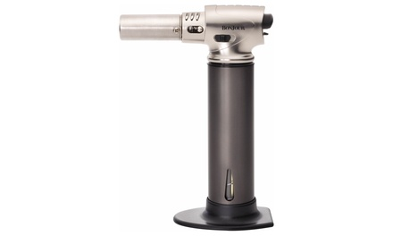 BonJour Culinary Pro Torch with Fuel Gauge