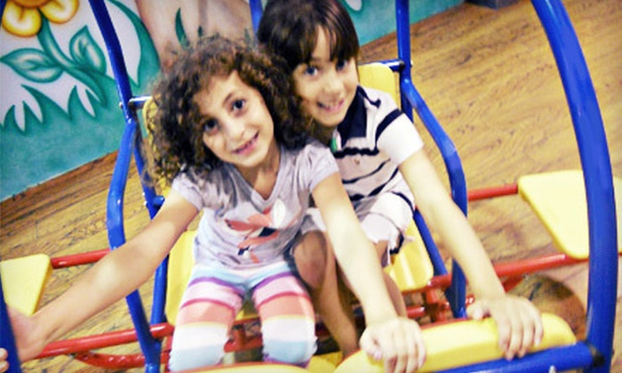 Kin-R-Gee - Vaughan: Indoor-Playground Sessions with Optional Meal Combos and Birthday Parties at Kin-R-Gee (Up to 70% Off)