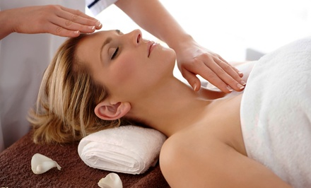 Massage, Reiki Session, or Reiki and Reflexology Treatment at Natural Healing and Massage (Up to 52% Off)