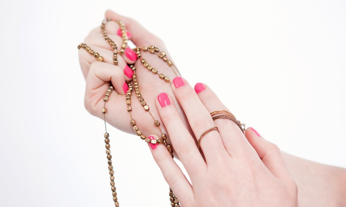 Polished Nail Bar - Harding: One or Three Gel Manicures at Polished Nail Bar (Up to 59% Off)