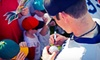 MAB Celebrity Services - Secaucus: Pinstripe Glory Days Baseball Autograph Event from MAB Celebrity Services (Up to 58% Off). Four Options Available.