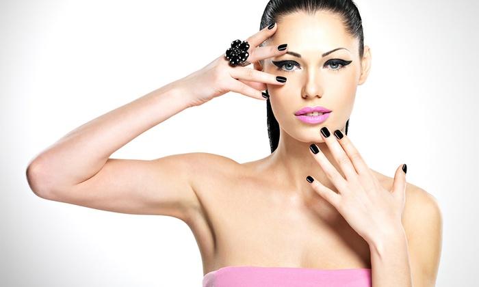 Salon Mikimoto - Salon Mikimoto: Spa Manicure and Facial or Mani-Pedi with Shampoo at Salon Mikimoto (Up to 53% Off)