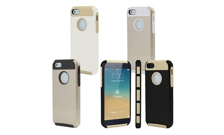3DLuxe Dual-Layer Gold Case for iPhone 6, 6 Plus, or 5/5s