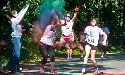Veteran's Day 5K Entry for One or Two from Veterans Cross Country Color 5K (Up to 52% Off)