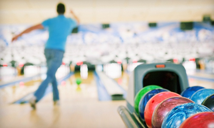 Playdrome Rose Bowl - Allentown: Bowling Outing for Two or Up to Six with Shoe Rental at Playdrome Rose Bowl (Up to 52% Off)