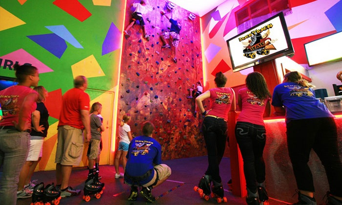 Terrace Sports - Temple Terrace: Roller-Skating and Climbing-Wall Package for Two, Four, or Six at Terrace Sports (Up to 80% Off)