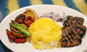 Naan & Kabab: $35 for $40 Worth of Mediterranean Food Plus Dessert and a Chef Meet & Greet at Naan & Kabab ($44 Value)