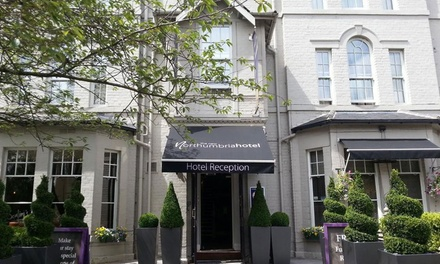 Newcastle upon Tyne: Double Room for Two Early CheckIn and Late CheckOut at New Northumbria Hotel
