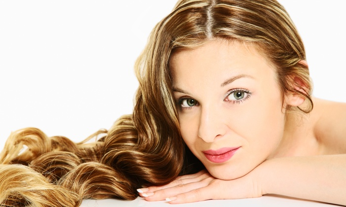 Haircut And Color Packages Fantastic Hair Nails Groupon