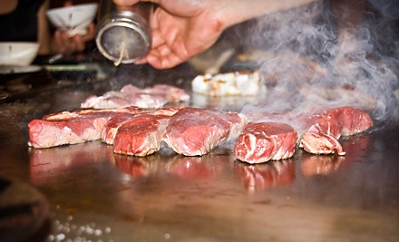 $12.50 for $25 Worth of Japanese Teppanyaki Cuisine and Drinks at Dinner at Osaka House
