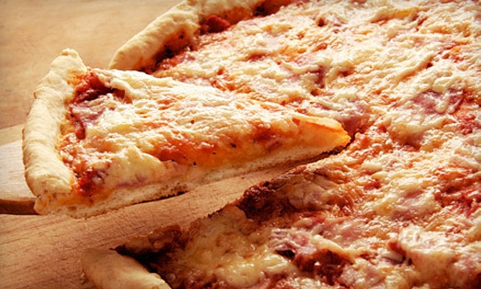 Nobby's Pizzeria - Scott Township: One or Two Large Pizzas with Hoagies and Breadsticks at Nobby's Pizzeria (Up to 55% Off)