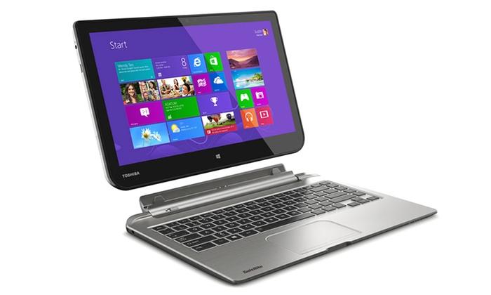 "Toshiba Satellite 13.3"" 2-in-1 Touchscreen Tablet Laptop ..."