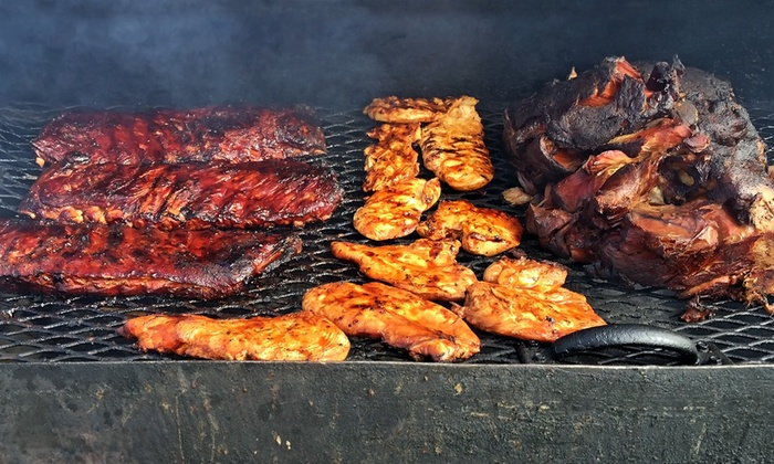 Uncle C's Bar-B-Que - Woodstock: Barbecue Meal for Four or Lunch for Two at Uncle C's Bar-B-Que (Up to 29% Off)