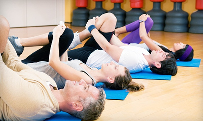 Annapolis Athletic Club - Annapolis: 10 Group-Exercise Classes or 6 Specialty Group-Training Classes Including Pilates, Yoga,  Spinning, TRX, Boot Camp & Ballet Barre at Annapolis Athletic Club (Up to 77% Off)