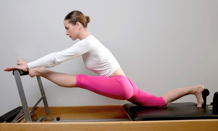 Pilates Classes  at The Good Space Pilates and Yoga Studio (Up to 70% Off). Two Options Available.