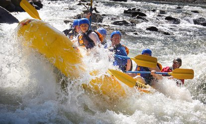 image for Three-Hour Whitewater Rafting Adventure for One or Two from Whitewater Express (Up to 54% Off)