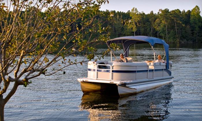 Boat Oneida - Boat Oneida: Half-Day Pontoon-Boat Rental on a Weekday or Weekend or a Full-Day Rental on a Weekday from Boat Oneida (Up to 56% Off)