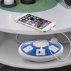 Aduro Surge 5 Outlet Dual USB Charging Station