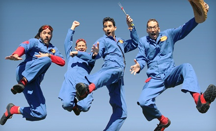 Disney's Imagination Movers at Benedum Center on Sat., Apr. 21 at 3PM: Rear-Orchestra - Disney's Imagination Movers in Pittsburgh