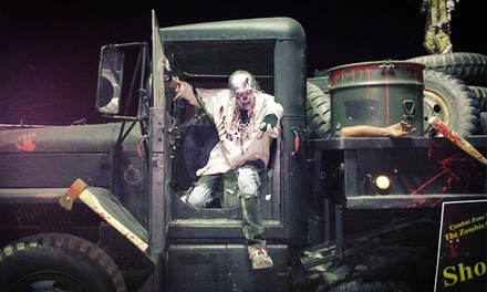 Zombie Experience for One or Two with Optional Shirts from Zombie Apocalypse Experience Las Vegas (Up to 41% Off)