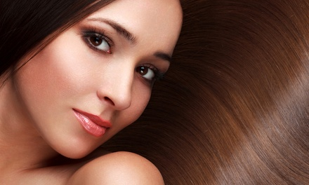 One or Two Silk-Infused Blowout Treatments at Hush Hair and Nails Studio (Up to 53% Off)