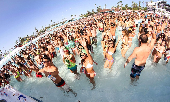Wet Electric Music Festival - Big Surf Waterpark: Wet Electric Music Festival Feat. Tiësto at Big Surf Water Park on April 25 and 26 at 11 a.m. (Up to 30% Off)