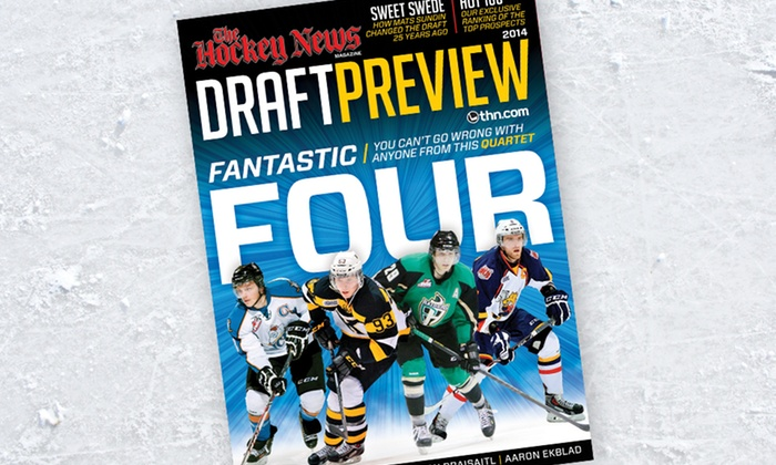 The Hockey News : $25 for a 28-Issue Subscription to The Hockey News (C$52.95 List Price). Free Shipping.
