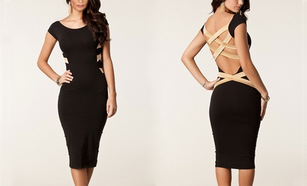 Women's Stacy Strap Back Dress