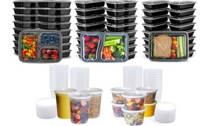 LunchBox Food Storage Container Set (30- or 48-Piece)