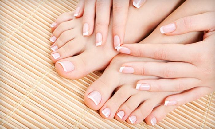 California Nails & Spa - Waterloo: UV Gel or Solar Nails Manicure at California Nails & Spa (Up to 51% Off)