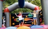 Bounce Ninja - Omaha: 8-Hour Bounce-House Rental or 5-Hour Movie-Night Big-Screen Rental Package from Bounce Ninja (Half Off)