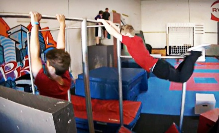 $29 for Four Beginner Classes for One or One Beginner Class for Four at Revolution Parkour ($60 Value)