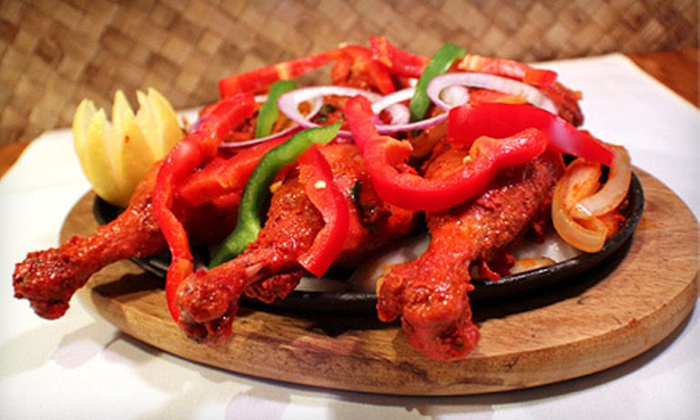 Bombay Palace Cuisine - Nickel Centre: $16 for Dinner for Two at Bombay Palace Cuisine (Up to $37.98 Value)