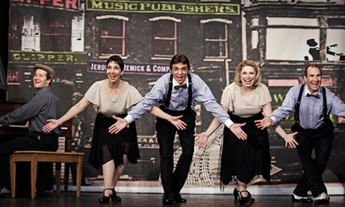 """""""Tin Pan Alley"""" - Clinton: $30 for a Musical Revue of """"Tin Pan Alley"""" at Actors' Temple Theatre on June 1–July 1 (Up to $59.50 Value)"""