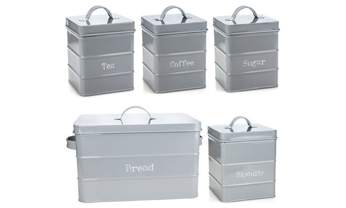 Kitchen Canisters Set Groupon