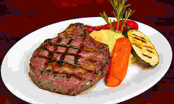 Wildfire Steakhouse & Wine Bar - North York: $75 for a Four-Course Dinner for Two at Wildfire Steakhouse & Wine Bar (Up to $161.80 Value)