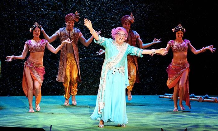 Dame Edna's Glorious Goodbye - California Center for the Arts, Escondido: Dame Edna's Glorious Goodbye at California Center for the Arts, Escondido on November 19–21