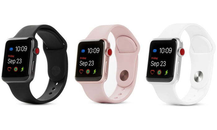 Apple Watch Series 3 42mm Or 38mm Lte Or Wifi Groupon