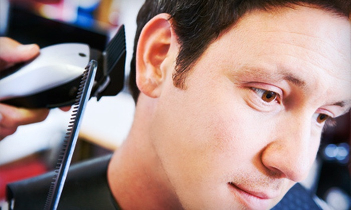 Ultra Shave Lounge - Bloomfield: One Standalone Men's Haircut or One or Two Men's Haircuts with Hot-Towel Shaves at Ultra Shave Lounge (Up to 69% Off)